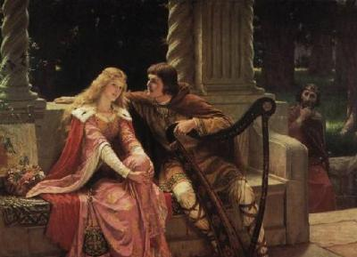 Edmund Blair Leighton - Tristan and Iseult