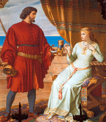 August Spiess - Tristan and Isolde