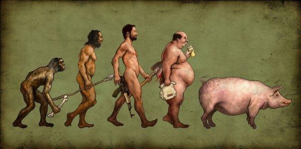 evolutionofman