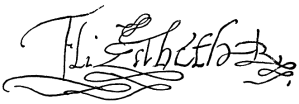 autograph_of_elizabeth_i_of_england_from_nordisk_familjebok