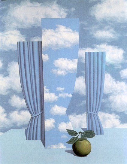 René Magritte - Beautiful world-1962