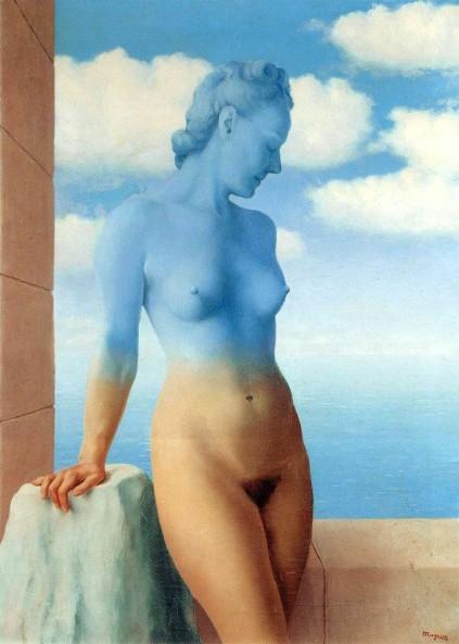 René Magritte - Black Magic -1945