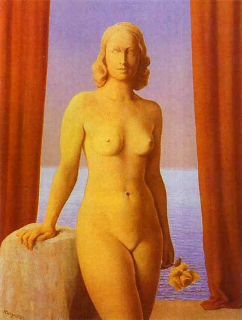 René Magritte - Flowers of Evil,1946