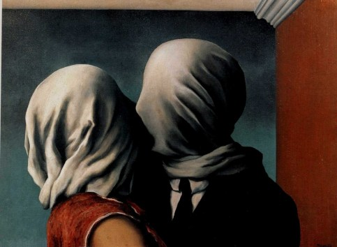 René Magritte - The Lovers