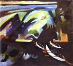 Wassily Kandinsky - Boat Trip