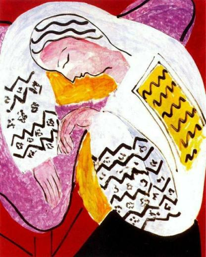 Henri Matisse-The Rumanian Blouse