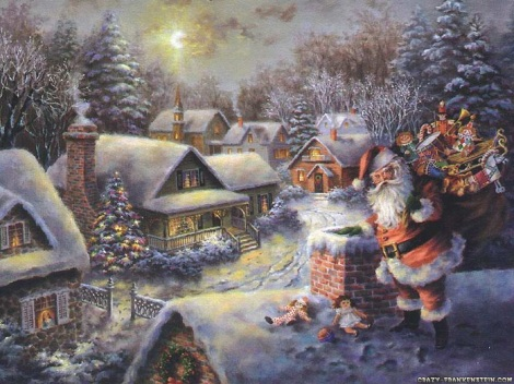 advent calendar 2009 Santa-claus-coming1