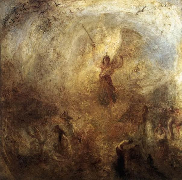 Joseph Mallord William Turner - The angel standing in the sun