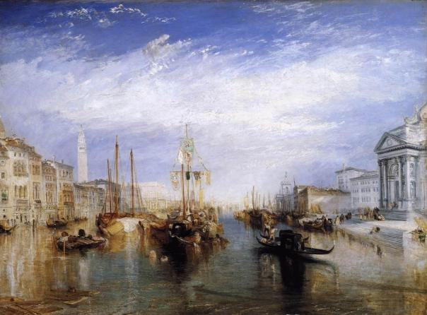 Joseph Mallord William Turner - The Grand Canal - Venice