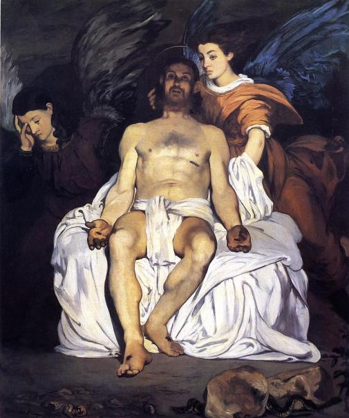 Édouard Manet - The Dead Christ and the Angels – 1864