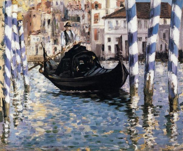 Édouard Manet - The Grand Canal, Venice (also known as Blue Venice) – 1874