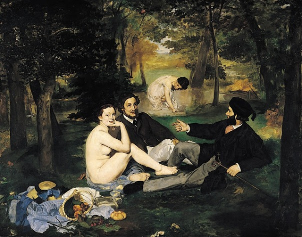 Edouard Manet – The Luncheon on the Grass (Le déjeuner sur l'herbe), 1863