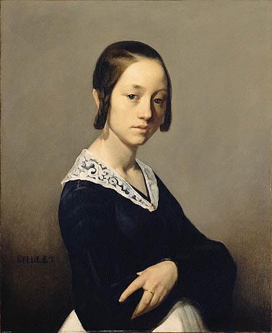 Jean François Millet - Louise Antoinette Feuardent