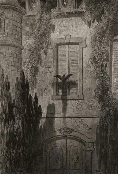 Gustave Doré - Raven