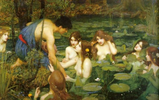 John William Waterhouse - Hylas and the Nymphs,1896