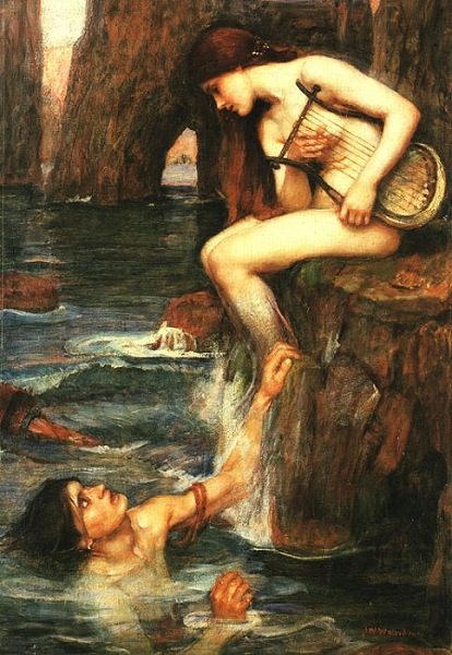 John William Waterhouse - The Siren