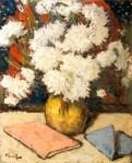 Nicolae Tonitza - Crizanteme albe