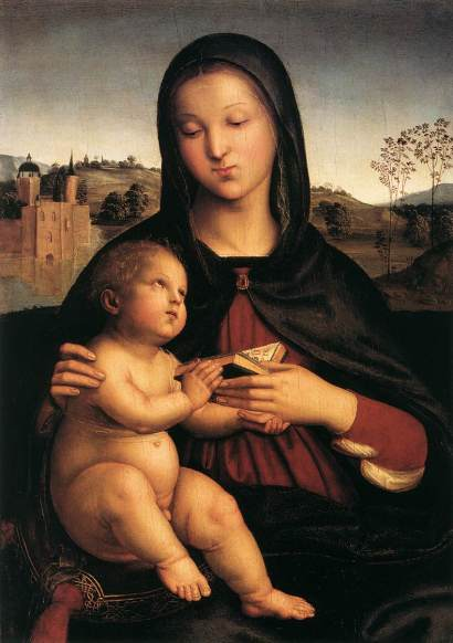 Rafael Sanzio - Madonna and Child
