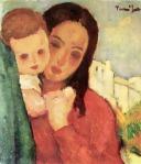 Nicolae Tonitza-Mama si copil