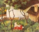 Nicolae Tonitza - Gradina din Valeni