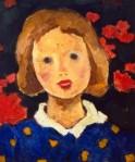 Nicolae Tonitza-Portret de fetiţă