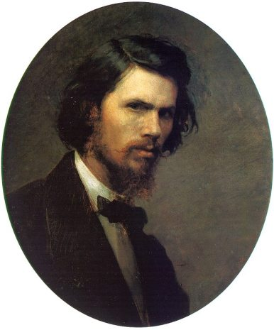 Ivan Kramskoy - Self-Portrait