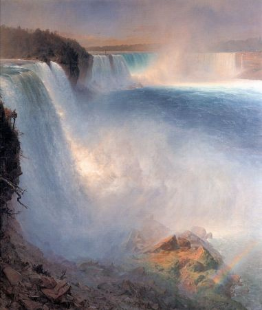 Frederic Edwin Church - Niagara Falls (american side)