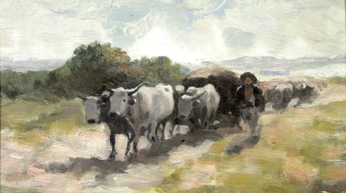 Nicolae Grigorescu -Car cu boi