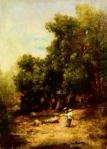 Nicolae Grigorescu  -Intrare în pădurea Fontainebleau
