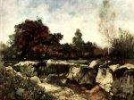 Nicolae Grigorescu  - Stancile de la Fontainebleau