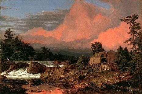 Frederic Edwin Church - Rutland Falls