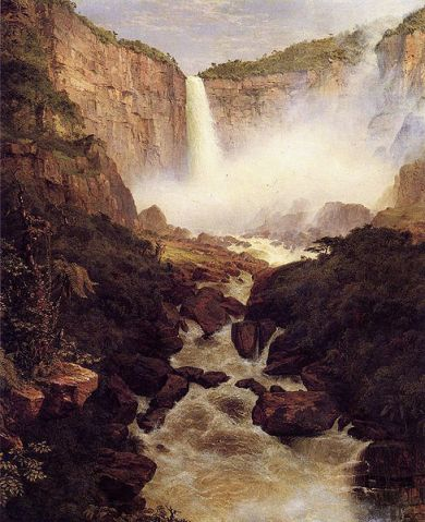 Frederic Edwin Church - Tequendama Falls, Near Bogota,New Granada