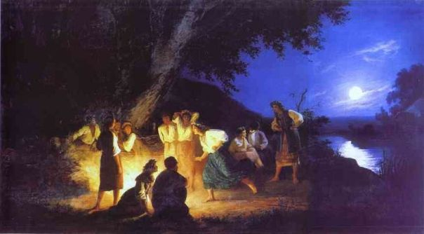 Henryk Hector Siemiradzki - Night on the Eve of Ivan Kupala