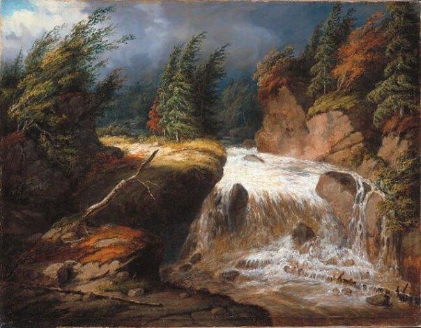 Cornelius Krieghoff - The Passing Storm, Saint-Ferréol