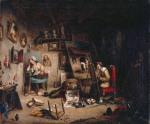 Cornelius Krieghoff - The Studio