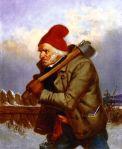 Cornelius Krieghoff - The Woodcutter