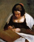 Diego Velazquez - The Needlewoman