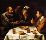 Diego Velazquez - Peasants at Table (El Almuerzo)