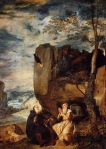 Diego Velazquez - St. Anthony Abbot and St. Paul the Hermit