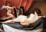 Diego Velazquez - Venus at Her Mirror