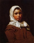 Diego Velazquez - Young Peasant Girl