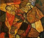 Egon Schiele - Agony (The Death Struggle)