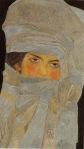Egon Schiele - Portrait of Melanie (The Artist`s Sister)