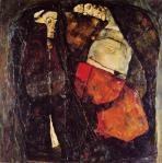 Egon Schiele - Pregnant Woman and Death