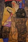 Egon Schiele - The Blind