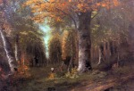 Gustave Courbet - Forest in Autumn