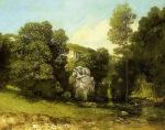 Gustave Courbet - La Ruisseau de la Breme