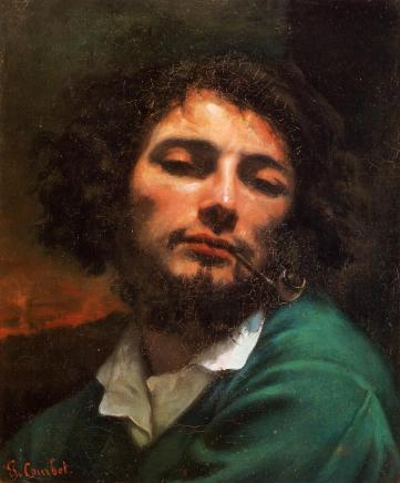 Gustave Courbet - Portrait of the Artist