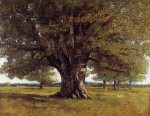 Gustave Courbet - The Oak at Flagey