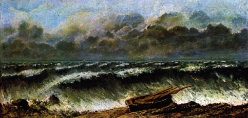 Gustave Courbet - The waves